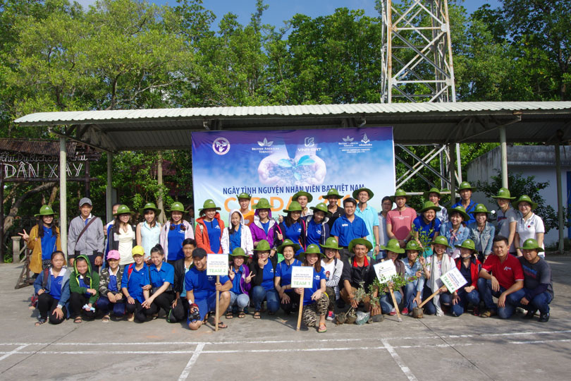 CSR Day - Afforestation in Can Gio 1